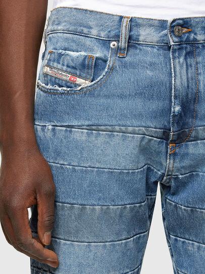Diesel - D-Strukt Slim Jeans 009UE, Light Blue - Jeans - Image 3