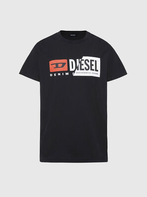 T-DIEGO-CUTY, Black - T-Shirts