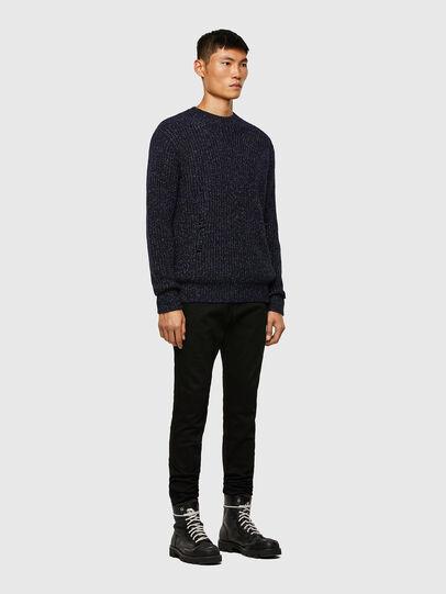 Diesel - K-CARBON, Dark Blue - Sweaters - Image 6