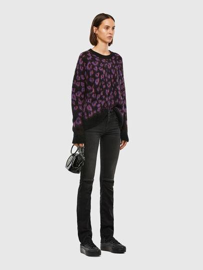 Diesel - M-RHONDA, Violet/Black - Sweaters - Image 5