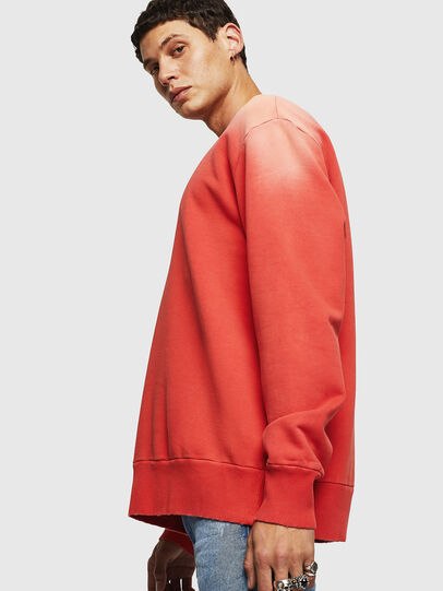 Diesel - S-BAY-SUN, Orange - Sweatshirts - Image 4