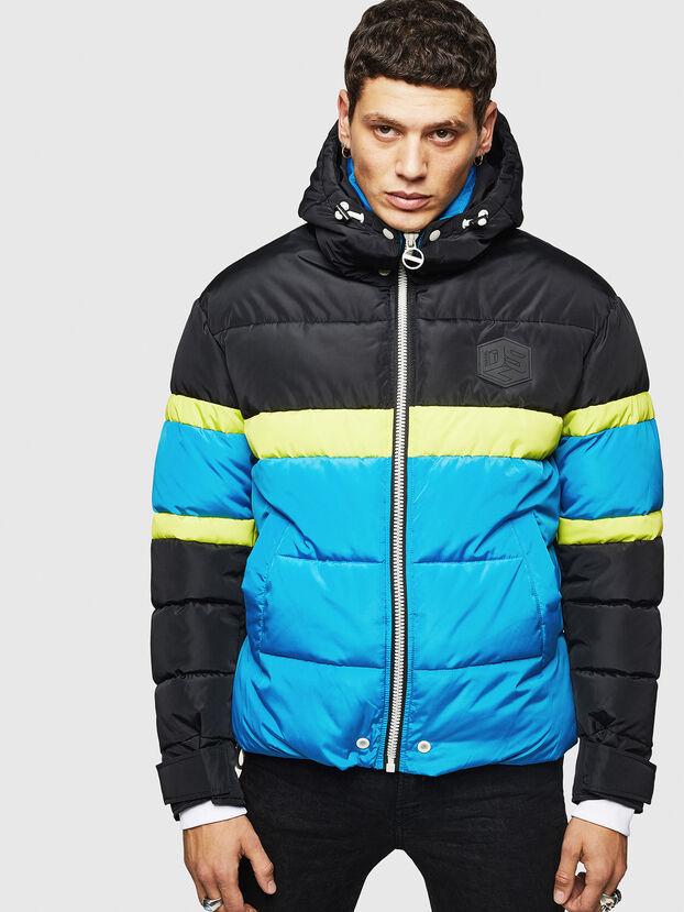W-MARTOS, Black/Blue - Winter Jackets