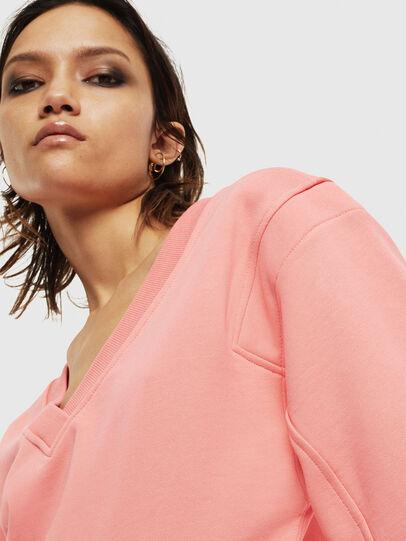Diesel - F-AKIN, Pink - Sweatshirts - Image 5