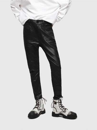 Diesel - Fayza JoggJeans 069DU, Black/Dark Grey - Jeans - Image 1