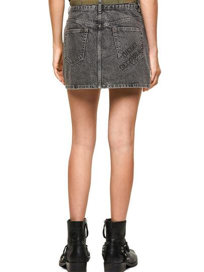 Diesel - DxD-SKIRT, Black - Skirts - Image 2