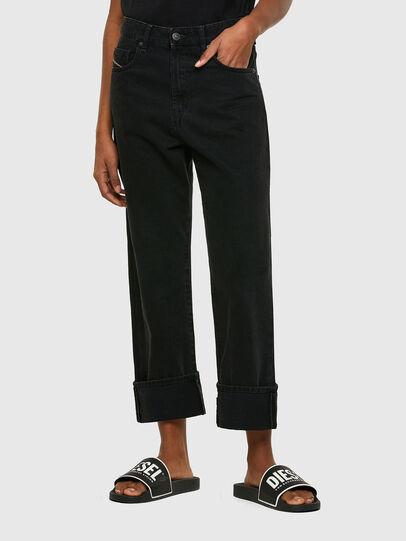 Diesel - D-Reggy 009RL, Black/Dark Grey - Jeans - Image 1