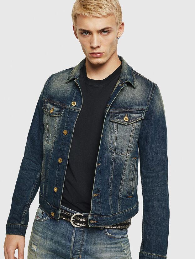 D-GALY, Dark Blue - Denim Jackets