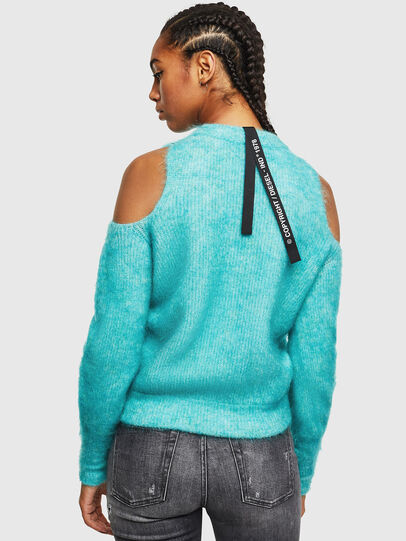 Diesel - M-LARA, Azure - Sweaters - Image 2