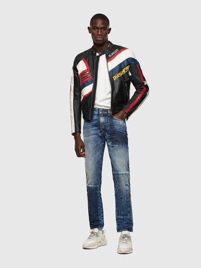 Diesel - D-Strukt Slim Jeans 009NI, Medium Blue - Jeans - Image 6