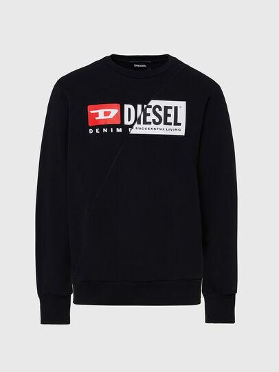 Diesel - S-GIRK-CUTY, Black - Sweatshirts - Image 1
