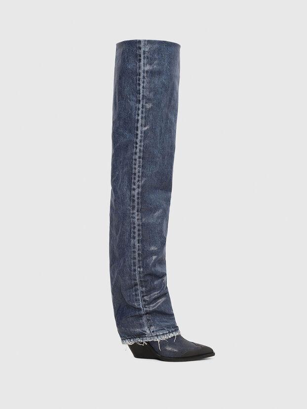D-WEST OTK, Blue Jeans - Boots