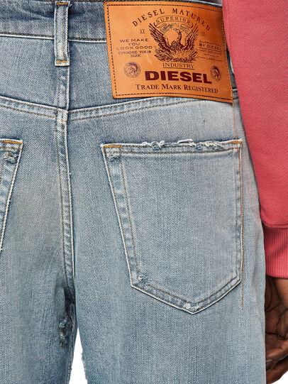 Diesel - D-Reggy Straight Jeans 09A04, Light Blue - Jeans - Image 3