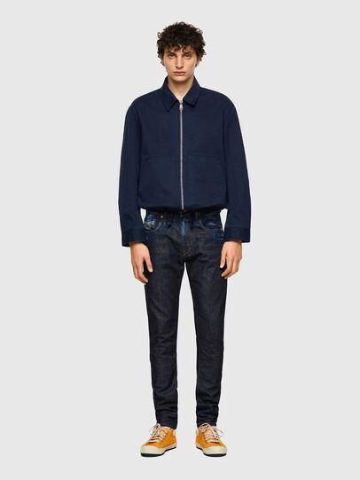 Diesel - D-Strukt Slim Jeans 09A20, Dark Blue - Jeans - Image 5