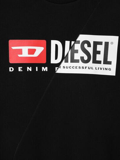 Diesel - SGIRKCUTY OVER, Black - Sweatshirts - Image 3