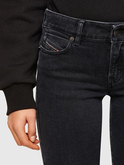 Diesel - D-Jevel Slim Jeans 0870G, Black/Dark Grey - Jeans - Image 3