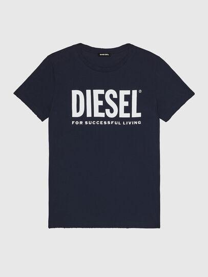 Diesel - T-DIEGO-LOGO, Dark Blue - T-Shirts - Image 1