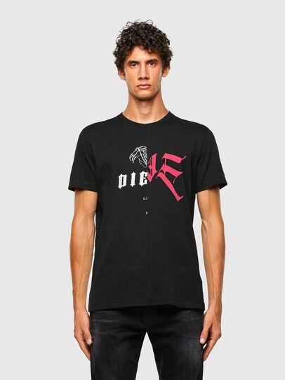 Diesel - T-DIUBBLE-N1, Black - T-Shirts - Image 1