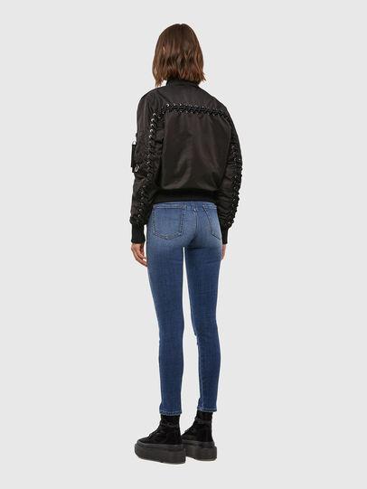 Diesel - W-SWING, Black - Winter Jackets - Image 6