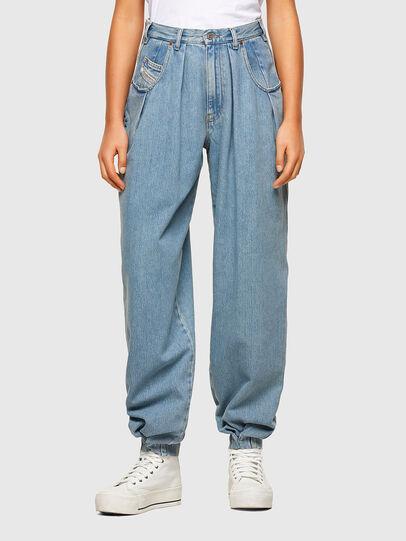 Diesel - D-Concias Boyfriend Jeans 009RQ, Light Blue - Jeans - Image 1