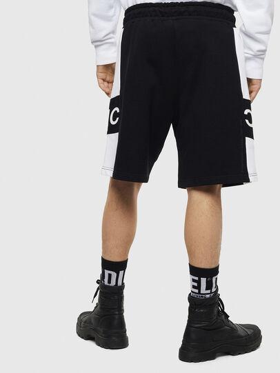 Diesel - P-SHAM, Black/White - Shorts - Image 2
