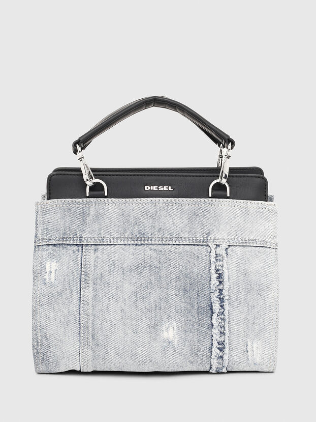 BADIA, Grey Jeans - Satchels and Handbags
