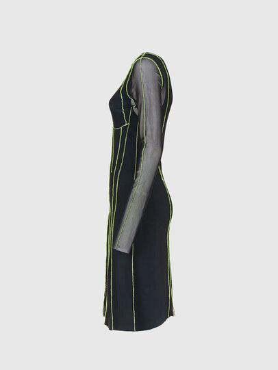 Diesel - D-VINA, Black/Green - Dresses - Image 3