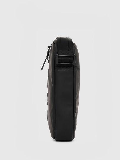 Diesel - F-BOLD SMALL CROSS, Black - Crossbody Bags - Image 3