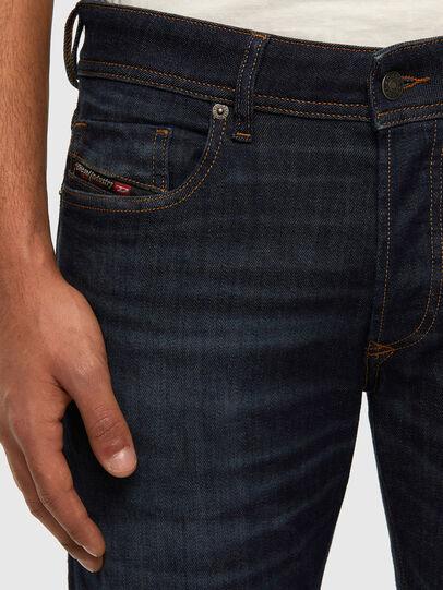 Diesel - Sleenker Skinny Jeans 009DI, Dark Blue - Jeans - Image 4