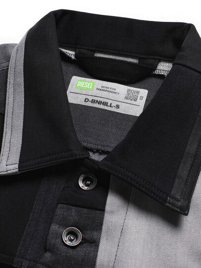 Diesel - D-BNHILL-S, Black - Sweatshirts - Image 6