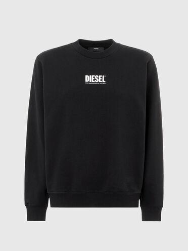 Sweatshirt with small logo print