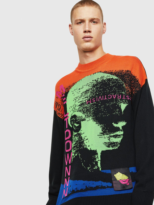 K-MELTER, Multicolor/Black - Sweaters