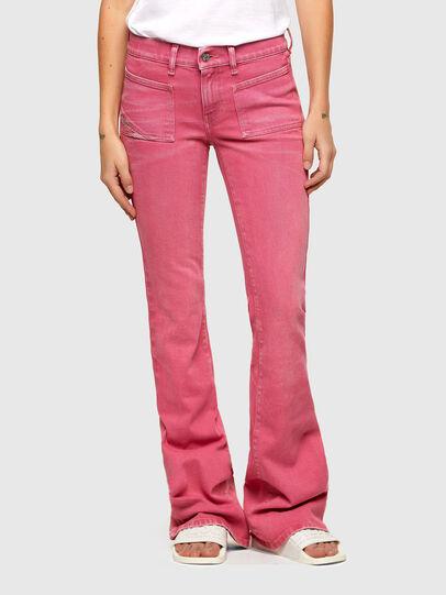 Diesel - D-Ebbey Bootcut Jeans 009VA, Pink - Jeans - Image 1