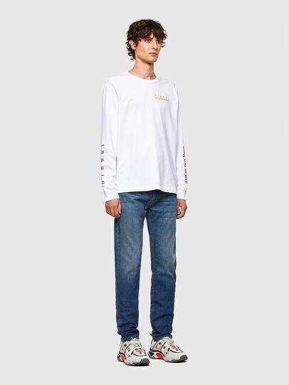 Diesel - Thommer Slim Jeans 009EI, Medium Blue - Jeans - Image 5