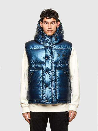 Diesel - W-SELLERS, Blue - Winter Jackets - Image 1