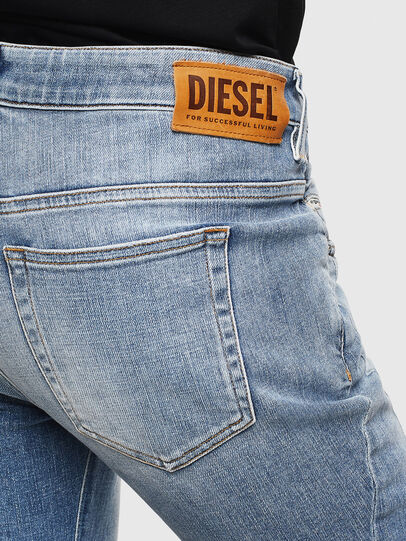Diesel - Fayza 0099M, Medium Blue - Jeans - Image 4