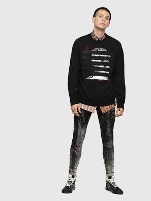 S-BAY-YB, Black - Sweatshirts
