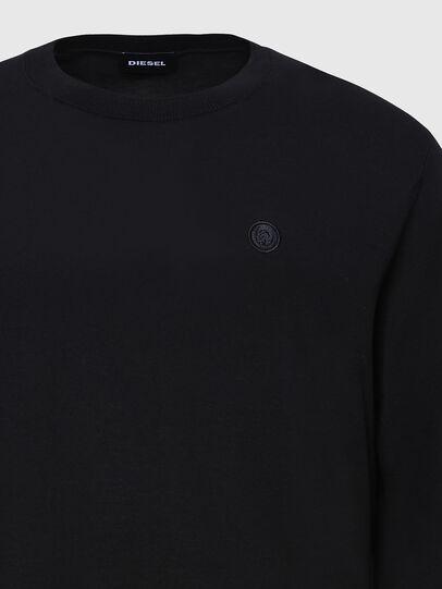Diesel - K-CROFT, Black - Sweaters - Image 3