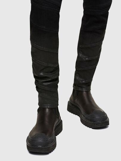 Diesel - D-Amny Skinny Jeans 009RA, Black/Dark Grey - Jeans - Image 5