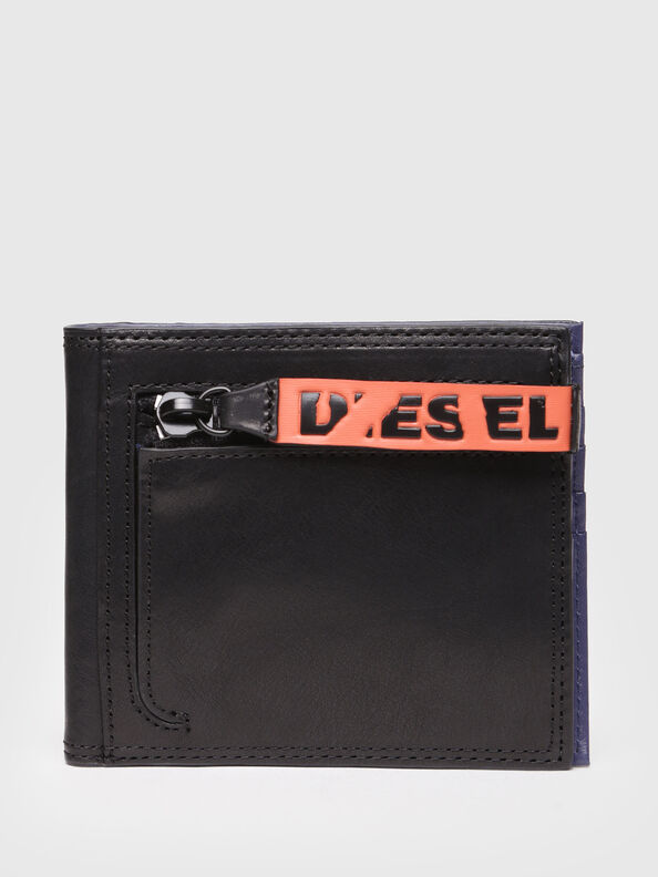 NEELA S, Black/Blue - Small Wallets