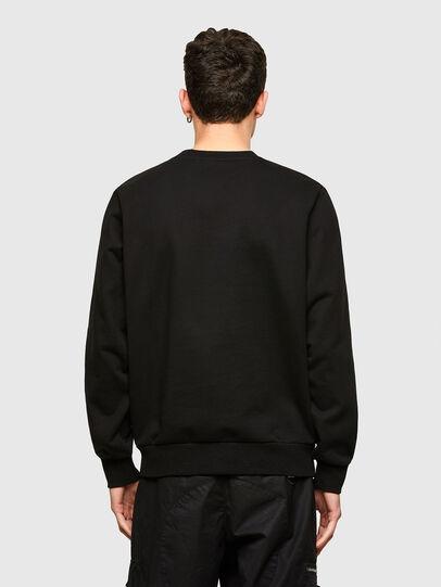 Diesel - S-GIRKEMB, Black - Sweatshirts - Image 2