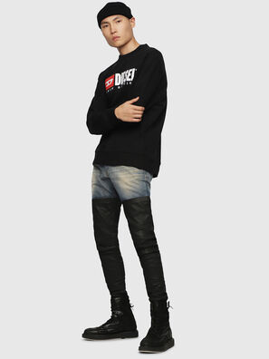 S-CREW-DIVISION, Black - Sweatshirts