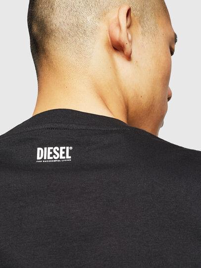 Diesel - T-DIEGO-B18, Black - T-Shirts - Image 5