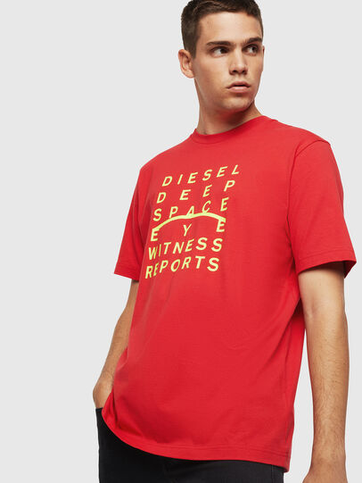 Diesel - T-JUST-J5, Red - T-Shirts - Image 1