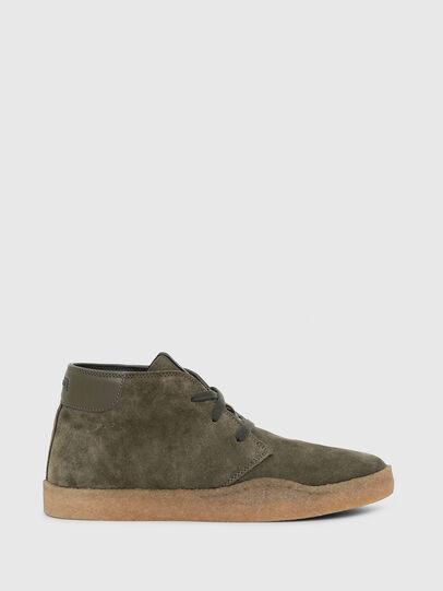 Diesel - H-CLEVER PAR DESERT, Green - Sneakers - Image 1