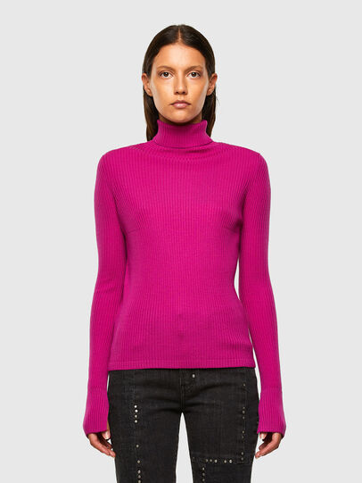 Diesel - M-KIMBERLY, Hot pink - Sweaters - Image 1