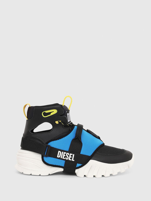 info for d31ce 7089a High-top sneakers with gaiter