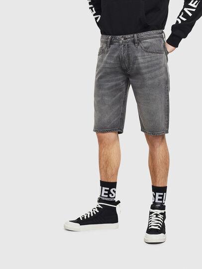 Diesel - THOSHORT, Grey - Shorts - Image 1