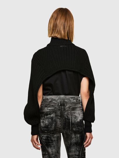 Diesel - M-BENAZIR, Black - Sweaters - Image 2