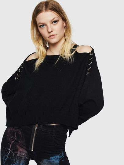 Diesel - M-NETTY, Black - Sweaters - Image 4