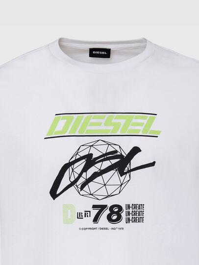 Diesel - T-DIEGOS-K34, White - T-Shirts - Image 3